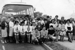 Far Cotton Working Men's Club - the Ladies Outing to Southend-on-Sea  in 1969