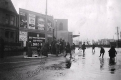 Outside the Tivoli Cinema - 1939 Flood