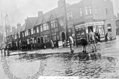 Towcester Road - 1939 Floods