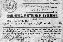 Home Guard documents