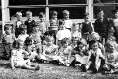 Queen Eleanor Infants School circa 1958