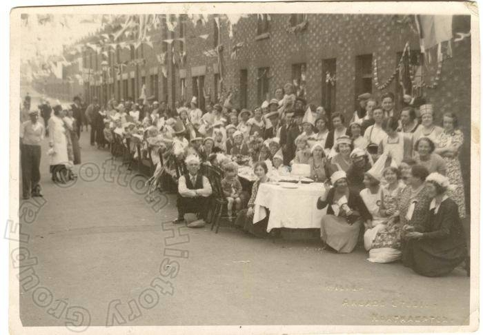 Oxford Street - 1935 Jubilee Celebrations