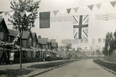 Queen Eleanor Road - 1935 Silver Jubilee Decorations