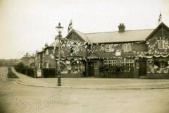 Queen Eleanor Road - 1935 Silver Jubilee decorations