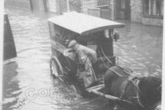 Euston Road - 1939 Floods