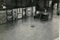 Matthews Yard, Cotton End - 1939 Flood