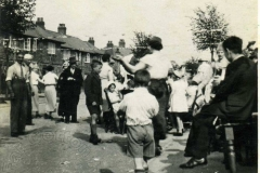 Queen Eleanor Road - Coronation Celebrations 1937