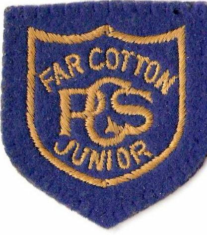 Paul Bland's blazer badge from Primary School.