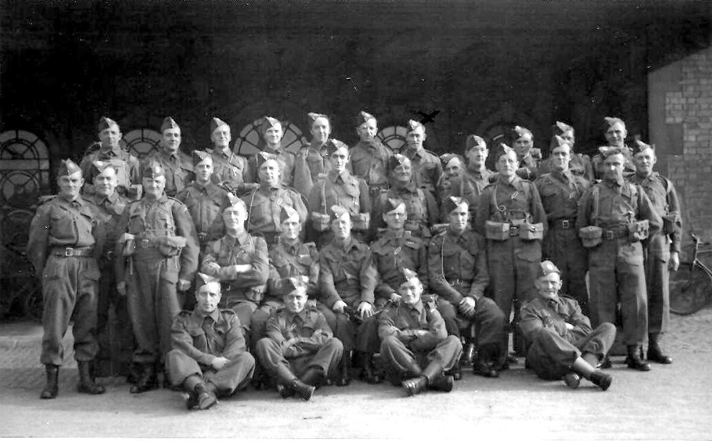 Home Guard, E Company Railway Group, No 16 Platoon