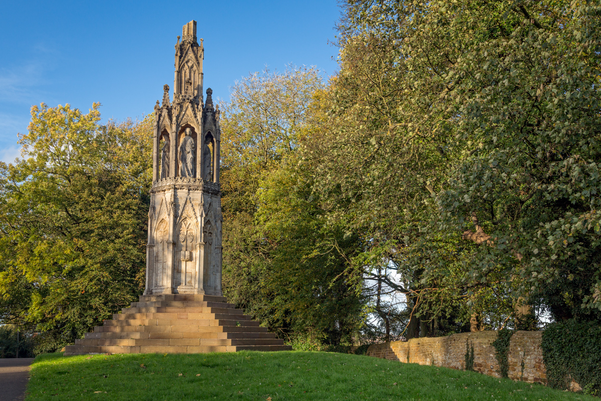 Photograph of the Queen Eleanor Cross by Bridget Peet