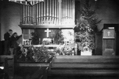 The organ and pulpit, Towcester Road Methodist Church