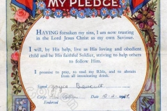 Salvation Army Pledge