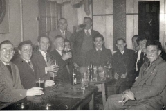 Before the fire: members enjoy an evening in the original Far Cotton Working Men's Club