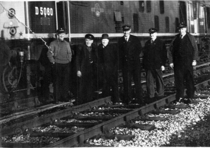 Working on the railway