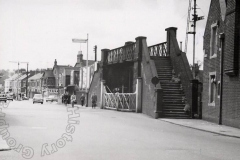 Entrance to Bridge Street Station 1965