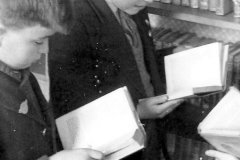 Paul Bland at Far Cotton Primary School, 1961
