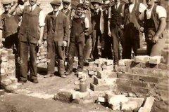 Reginald Harry Bland working in Penrhyn Road in 1935