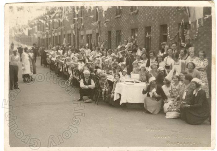 Oxford Street - 1935 Jubilee Celebrations