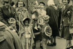 Forrest Road - 1953 Coronation Celebrations