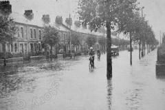 St Leonard's Road - 1931 Floods