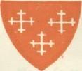 Delapre School 1960s badge