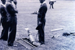 Charlie Chester at Northampton Archery Club, 1948