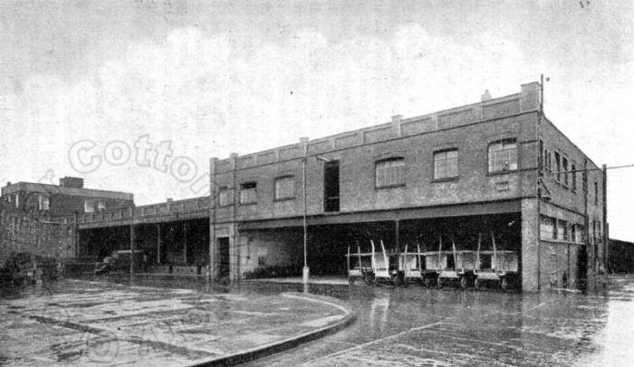 Co-op Dairy stables at Ransome Road in the 1960s