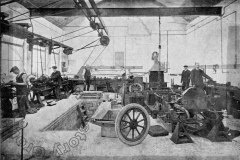 Ransome Motor Company Workshop 1914