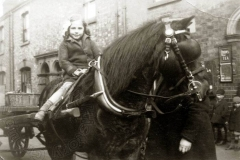 Jean Surridge  hitches a ride in 1937