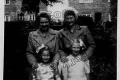 Gwen Haynes and neighbours Queen Eleanor Road