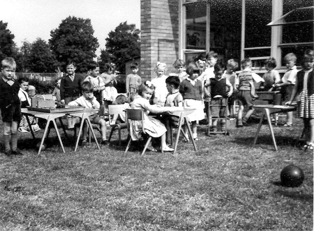 Queen Eleanor Infants School c1958